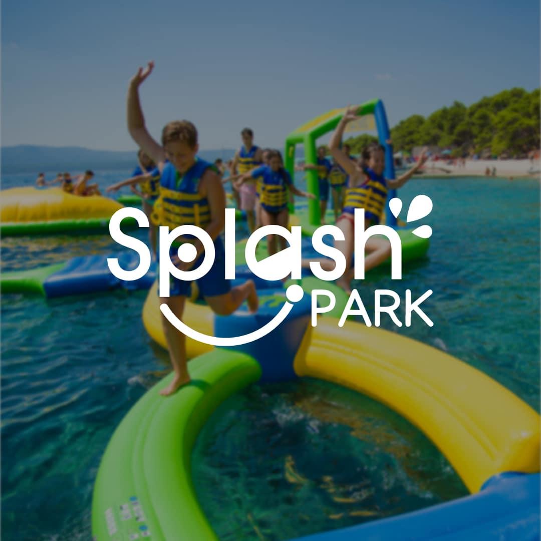Logo Splash Park White